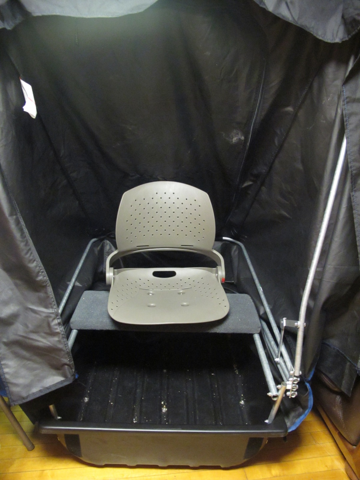 FS: Shappell One Man Flip Ice Shelter Fish House FX100
