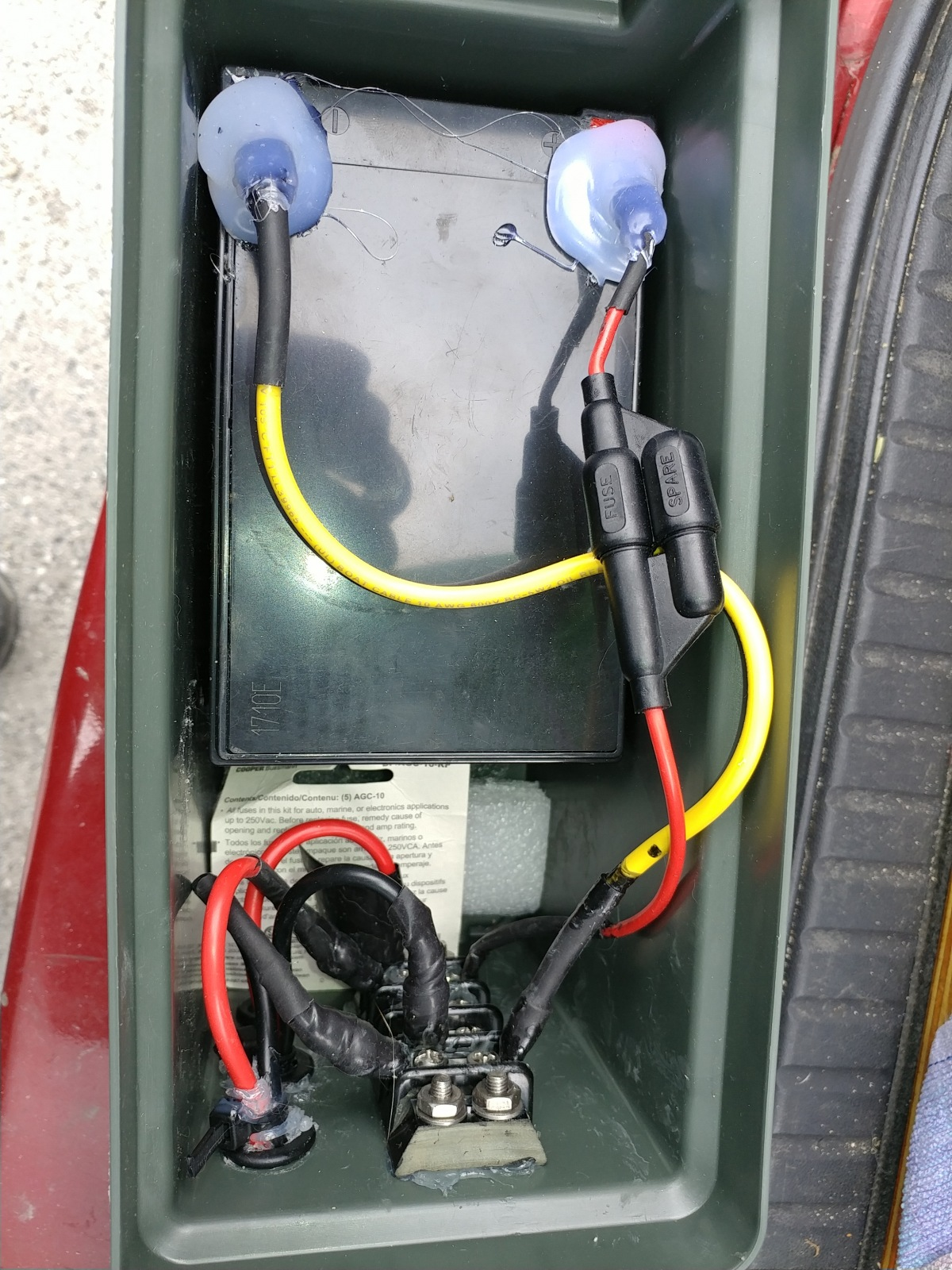 Thru-hull wiring kit: Wilderness Systems or Hobie. Any ... on