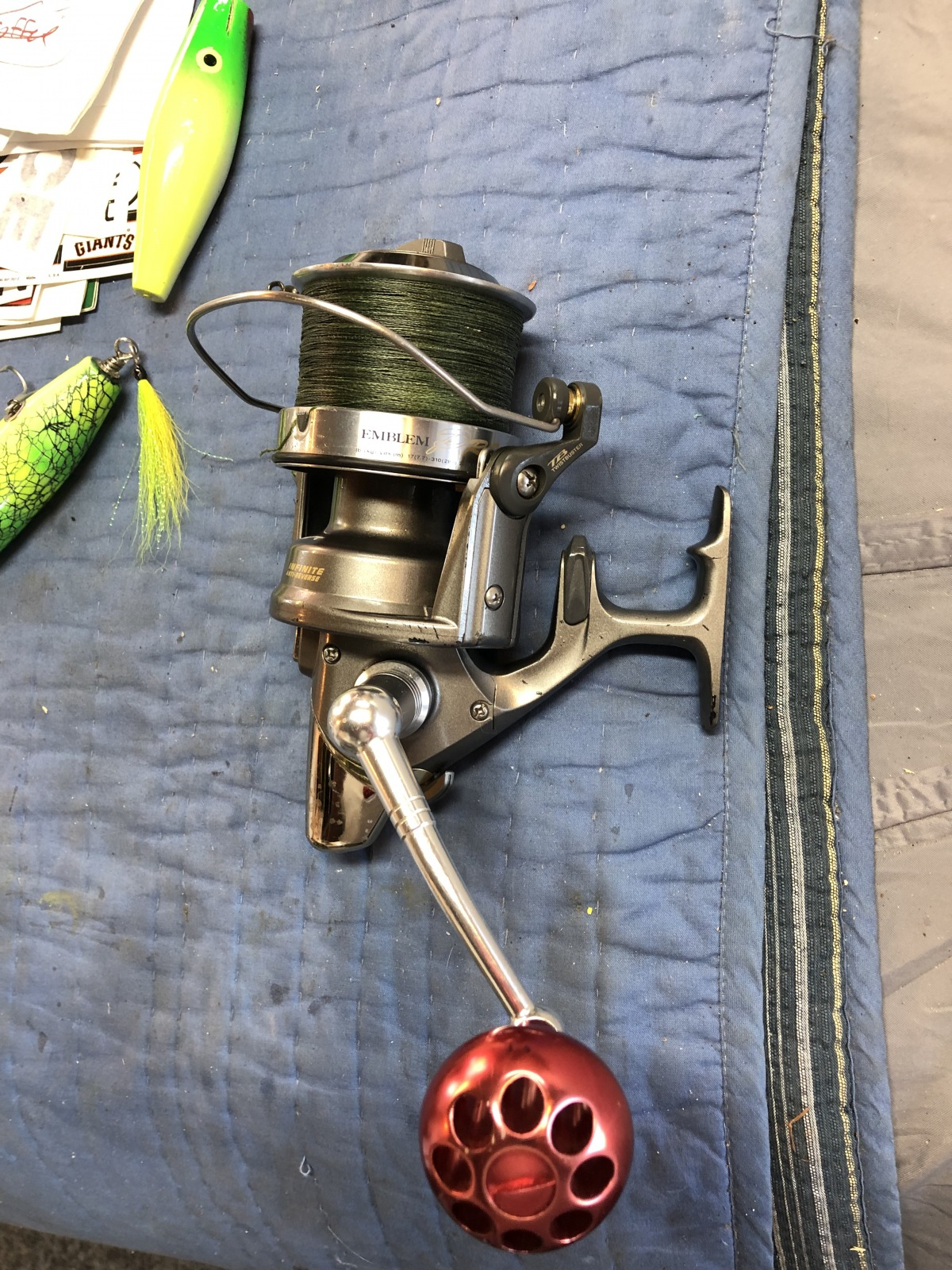 Daiwa Emblem Pro 5000 - General Buy/Sell/Trade Forum - SurfTalk