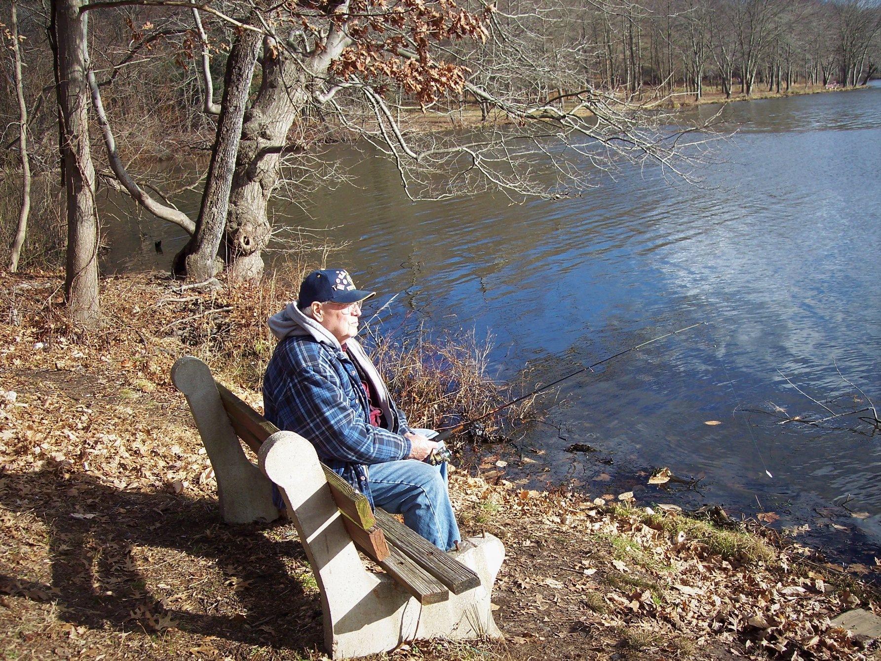 Grandpa on The Bench.jpg