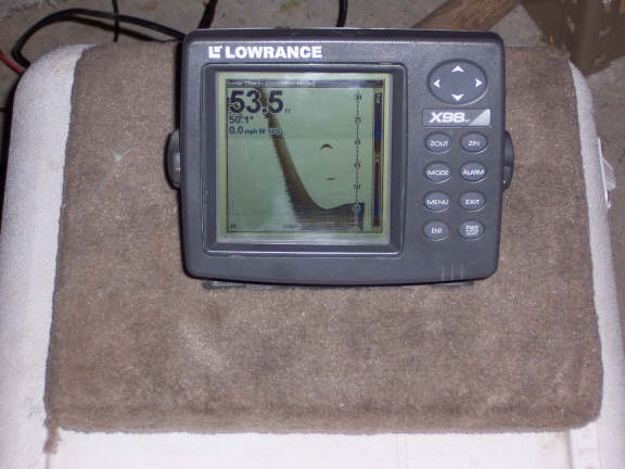 lowrance x98df fish finder - general buy/sell/trade forum - surftalk, Fish Finder