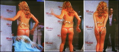 Miss Universe Wardrobe Malfunction