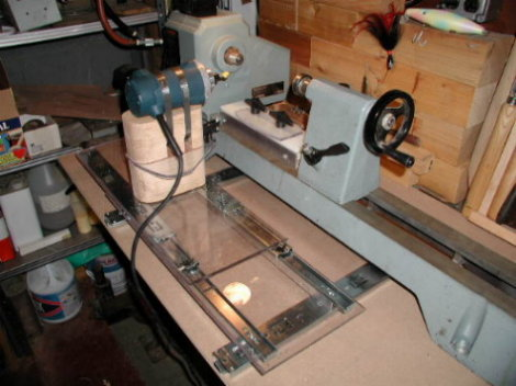 Home Built Lathe Duplicator PDF Woodworking